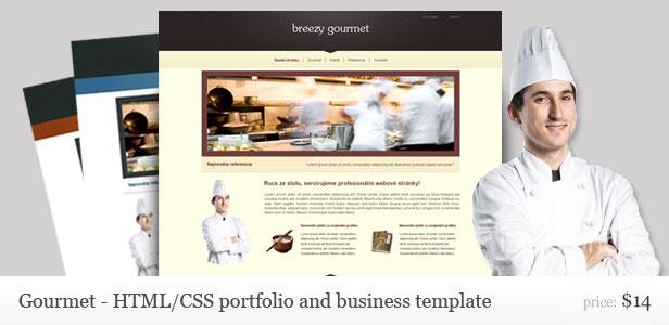 Gourmet templates